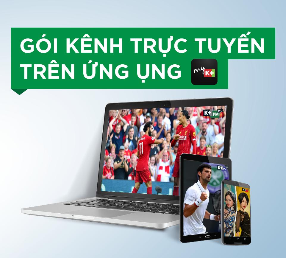 Goi kenh K+ online