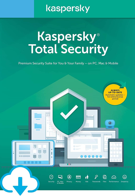 KEY Kaspersky TOTAL SECURITY